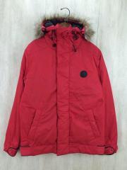 ダウンJK/XL/ナイロン/RED