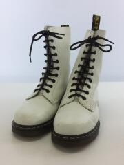 Dr.Martens/10ホールブーツ/白/ホワイト/UK8/1490