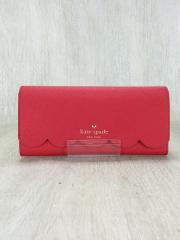 長財布/PVC/RED