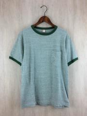 Tシャツ/40/コットン/GRN