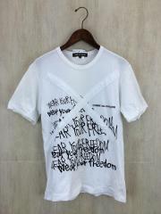 Tシャツ/S/コットン/WHT/使用感有/PE-T066/AD2016