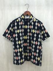 トウヨウエンタープライズ/半袖シャツ/M/コットン/BLK/中古