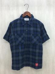 ネイバーフッド/半袖シャツ/S/コットン/BLU/中古