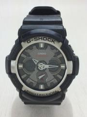クォーツ腕時計・G-SHOCK/デジアナ/BLK