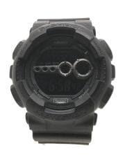 クォーツ腕時計・G-SHOCK/デジタル/BLK/BLK/GD-100