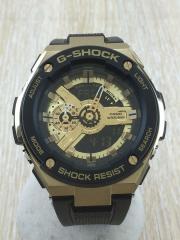クォーツ腕時計/アナログ/ラバー
