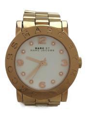 クォーツ腕時計/アナログ/ステンレス/ゴールド/エイミー/MBM3077/マークバイマークジェイコブス