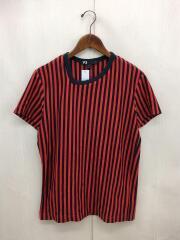Tシャツ/S/AAU002/ストライプ/ワイスリー/ヨウジヤマモト/アディダス/メンズ