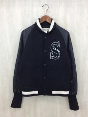 SRS Synthetical Stadium JKT/スタジャン/M/ウール/BLK