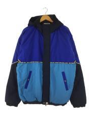 ジャケット/XL/ナイロン/ネイビー/無地/001HJF801006