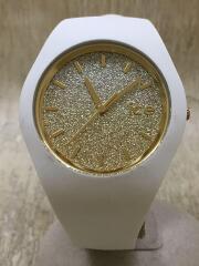 腕時計/アナログ/--/ホワイト