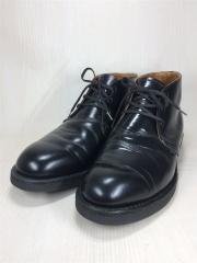 ブーツ/US8.5/BLK/レザー