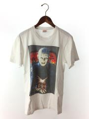 Tシャツ/S/コットン/WHT/プリント
