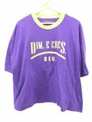 DIM.E CRES/ディムエクレス/Tシャツ/FREE/コットン/パープル