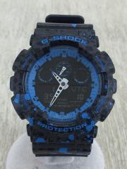 STASH/タイアップモデル/クォーツ腕時計/デジアナ/GA-100ST-2AJR