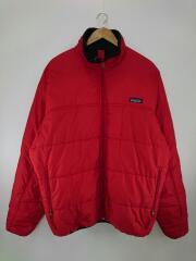 00年製/FIREBALL JK/ジャケット/L/ポリエステル/RED/84024