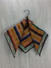 スカーフ/シルク/マルチカラー/総柄