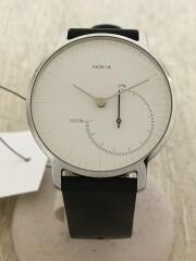 腕時計/ウェアラブルウォッチ/アナログ//WHT/BLK/HWA01
