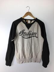 indian notocycle/スウェット/S/コットン/プリント