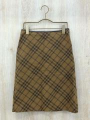 スカート/36/フェイクレザー/BRW
