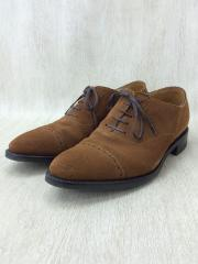 RENDO/PUNCHED CAP TOE OXFORD/シューズ/CML/スウェード