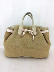 Arabesque Camel cuba Knitwear/アラベスク/ハンドバッグ/BEG