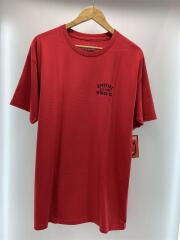 Tシャツ/L/コットン/RED