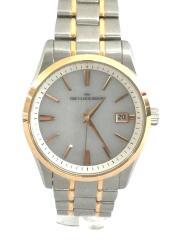 ソーラー腕時計/アナログ/ステンレス/WHT/SLV/MBF1006-WH2A