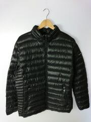 Packable Down Hooded Puffer Jacket/ダウンジャケット/M/ナイロン/BLK
