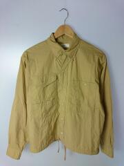 Drawstring Shirt/長袖シャツ/3/コットン/CML/無地/OESP-UM224
