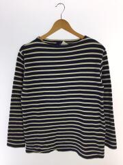バスクシャツ/長袖Tシャツ/--/コットン/NVY/ボーダー