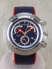 Racer Retrograde Chrono Watch/クォーツ腕時計/アナログ/A04LCQ904-A