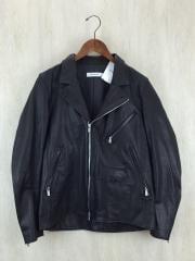 15AW/RIDER BLOUSON COW LEATHER/ライダースジャケット/1/牛革/NN-J2816