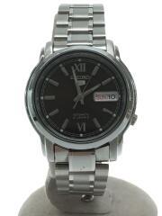 自動巻腕時計/アナログ/ステンレス/BRW/SLV/7S26-03S0