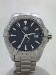 クォーツ腕時計・300M40.5mm/デジタル/WHT