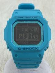 ソーラー腕時計・G-SHOCK/デジタル/BLU