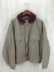 ハンティングジャケット/ブルゾン/2/コットン/KHK