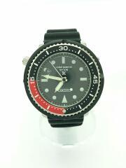 ソーラー腕時計/アナログ/ラバー/BLK/2084041610/1125/2000/プロスペックス