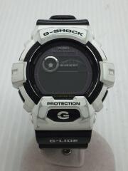 ソーラー腕時計・G-SHOCK/デジタル/WHT