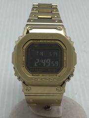 ソーラー腕時計・G-SHOCK/デジタル/ステンレス/BLK/GLD