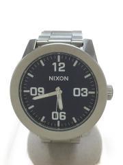 クォーツ腕時計/アナログ/ステンレス/NVY/SLV