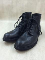 ブーツ/L/BLK/牛革