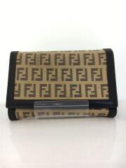 2つ折り財布/キャンバス/BEG/ズッキーノ/2266-8M0029-JOM049