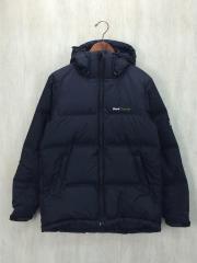 Hooded Down Jacket/ダウンジャケット/M/ナイロン/BLK