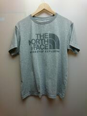 Tシャツ/M/コットン/GRY/無地/NT31620
