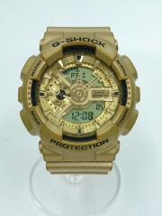 カシオ/クォーツ腕時計・G-SHOCK/デジアナ/ゴールド