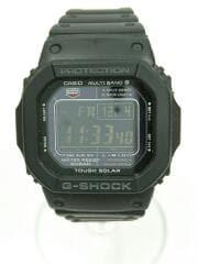 カシオ/クォーツ腕時計・G-SHOCK/デジタル/ブラック