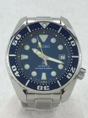 腕時計/アナログ/ステンレス/ブルー/シルバー/6R15-00G0