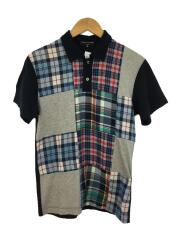 パッチワークポロシャツ/SS/コットン/コムデギャルソンオム/AD2008