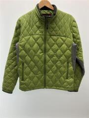 ダウンジャケット/L/ナイロン/グリーン/MJJ-7133